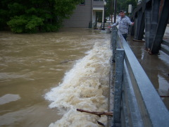Flooding:  Newark Valley NY
