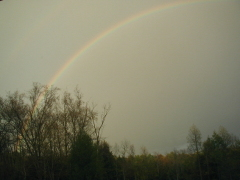 First rainbow of the season