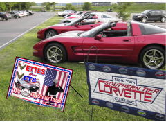 Vettes for Vets night at Otsiningo Park