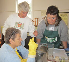 Soap Making at Bement-Billings Farmstead