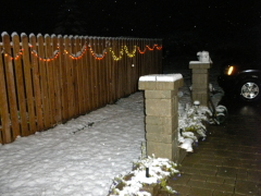 First snow of the year in Center Lisle
