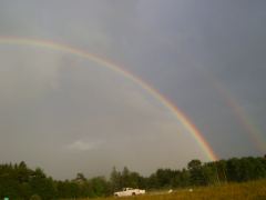 Beautiful Double Rainbow