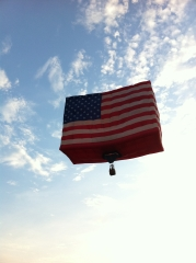 Flag Ballon Fri. Aug 5