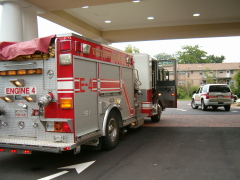 Fire alarms ring out at hotel in Vestal