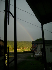 Rainbow in Chenango Bridge