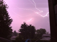Watching the Lightning Storm