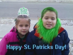 HAVE YOU SEEN THESE TWIN LEPRECHAUNS?