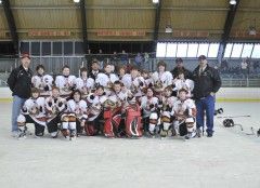 Jr Sens Pee Wee B Undefeated in Barre VT