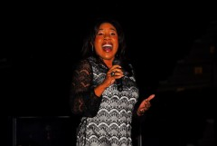 Melinda Doolittle at the Michael W. Smith Concert