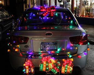 Car Parade of Lights