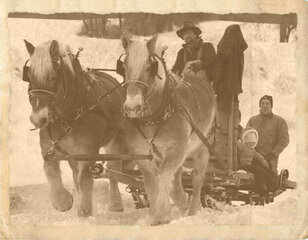 Back to basics, a Sleigh Ride.