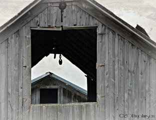 Old Barn in Sheds NY