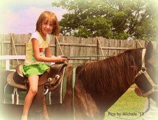 Maddie horseback riding!!