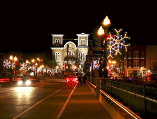 Owego's Lights on the River Festival