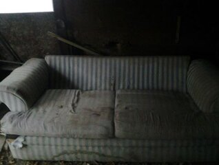 my ugly couch