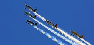 Air Show On Saturday