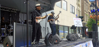 Michael Hills Blues Mob at July Fest