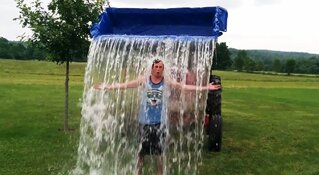 ALS Ice Bucket 'Loader' Challenge