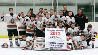 Jr. Senators Win Central NY Championship