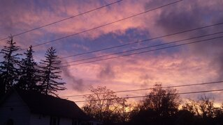 Sunset after the Storm in Walton