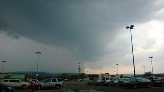 Awesome storm clouds in Vestal