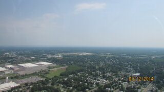 Syracuse pictures from Helicopter ride
