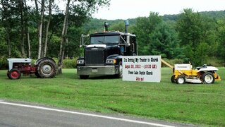 Drive Your Tractor To Church Sunday