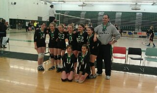 Whirlwind Volleyball 12U Team Wins!