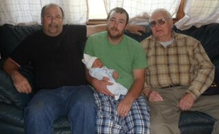 4 generations of Alexander men
