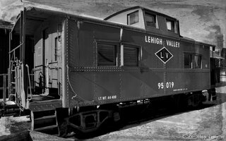 Lehigh Valley RR Caboose