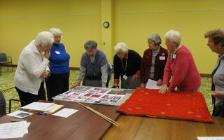 Woodland Pond Residents Share Quilts