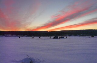 Sunrise at the 2014 Crappie Derby