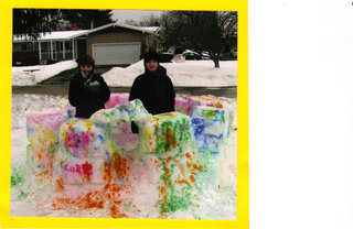 Psychedelic Snow Fort