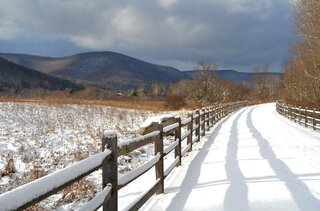 Snowy Rails to Trails!