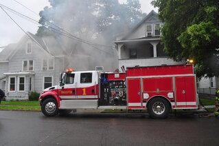 House Fire on Binghamton's West Side