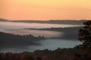 Morning Fog over Smithville