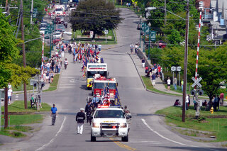Greene Memorial Day Parade 2014
