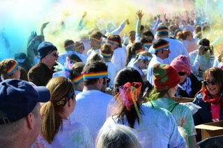 The Color Run at Broome Comm. College