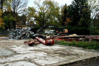 Medical Building torn down