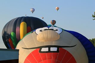 Friday Night Balloon Fest Flight