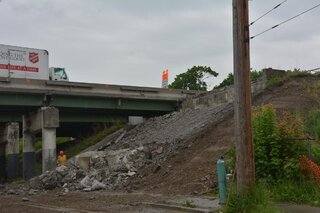 Chenango St overpass removal