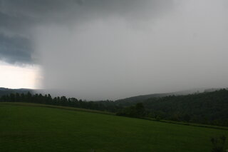 Approaching Storm in Newark Valley