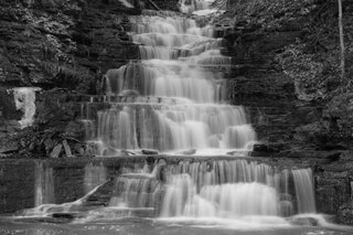 Waterfalls in Owego N.Y.