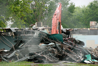 Owego Elementary School Demolished