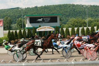 Harness Racing today at Tioga Downs