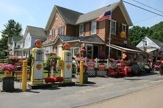 Historic Shell Station in Great Bend, PA