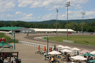 Beautiful Day for Races at Tioga Downs