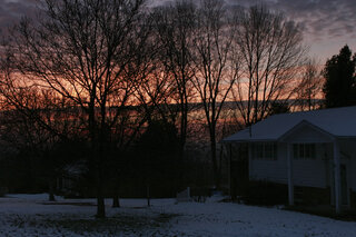 First Sunrise of December 2013