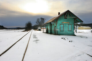 Old Flemingville Railroad Museum