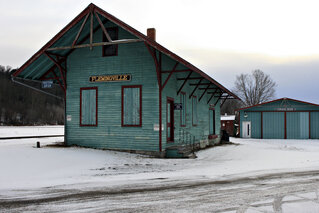 Olde Railroad Museum in Flemingville